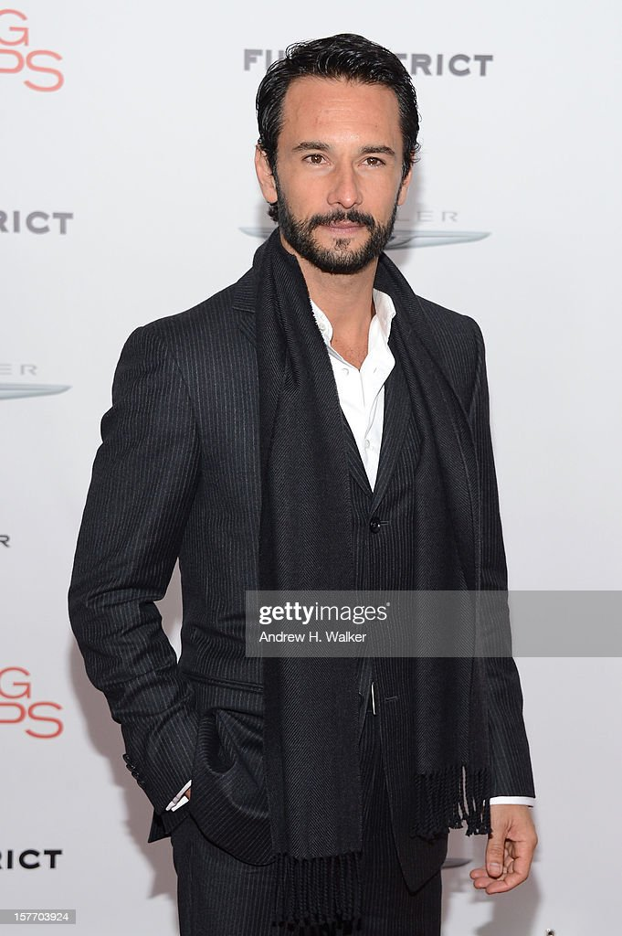 Actor Rodrigo Santoro attends Film District And Chrysler With The Cinema Society Premiere Of 'Playing For Keeps' at AMC Lincoln Square Theater on December 5, 2012 in New York City.