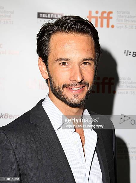 Actor Rodrigo Santoro attends 'Heleno' Premiere at TIFF Bell Lightbox during the 2011 Toronto International Film Festival on September 12 2011 in...