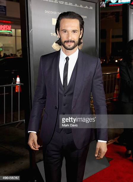 Actor Rodrigo Santoro attends the Centerpiece Gala Premiere of Alcon Entertainment's 'The 33' during AFI FEST 2015 presented by Audi at TCL Chinese...