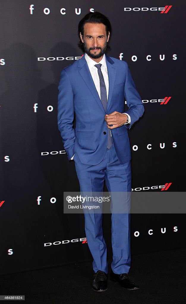 Actor Rodrigo Santoro attends the premiere of Warner Bros. Pictures' 'Focus' at the TCL Chinese Theater on February 24, 2015 in Hollywood, California.