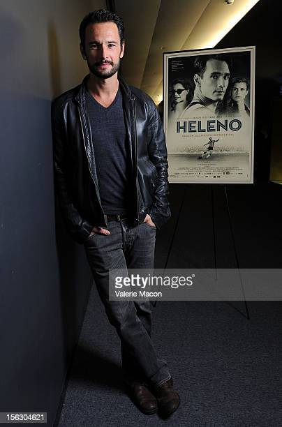 Actor Rodrigo Santoro attends TheWrap's Awards Season Screening Series Presents 'Heleno' on November 12 2012 in Los Angeles California