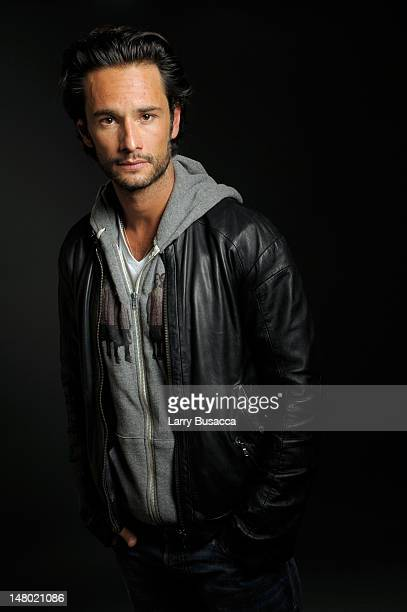 Actor Rodrigo Santoro poses at the Hollywood Life House on January 19 2009 in Park City Utah