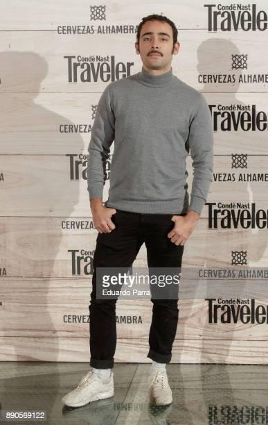 Actor Rodrigo Taramona attends the 'Conde Nast Traveler Gastronomic and Wine Guide' photocall at Florida Retiro on December 11 2017 in Madrid Spain