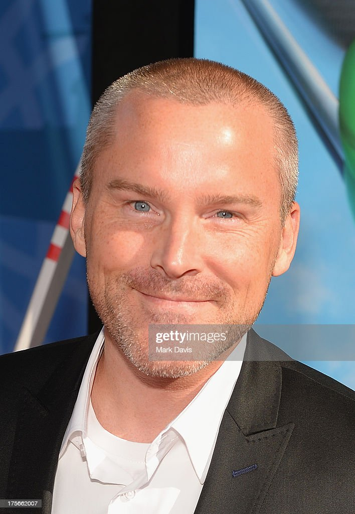 Actor Roger Craig Smith attends the premiere of Disney's 'Planes' at the El Capitan Theatre on August 5, 2013 in Hollywood, California.