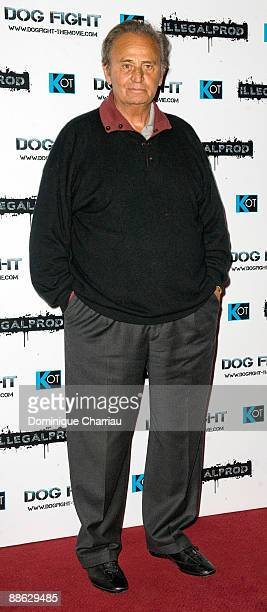 Actor Roger Hanin attends 'Dogfight' Paris Premiere at Cinema Gaumont Marignan on June 22 2009 in Paris France