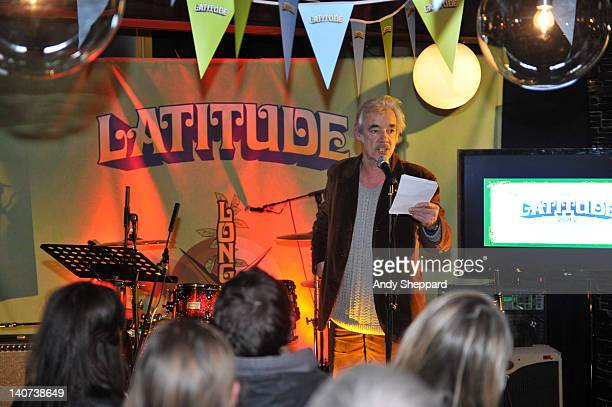 Actor Roger Lloyd Pack performs on stage for Festival Republic's Longitude Event at Century Club on March 5 2012 in London United Kingdom