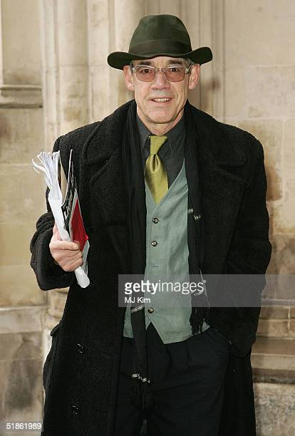 Actor Roger LloydPack arrives at the 'Woman's Own Children Of Courage Award' at Westminster Abbey on December 15 2004 in London The annual award is...
