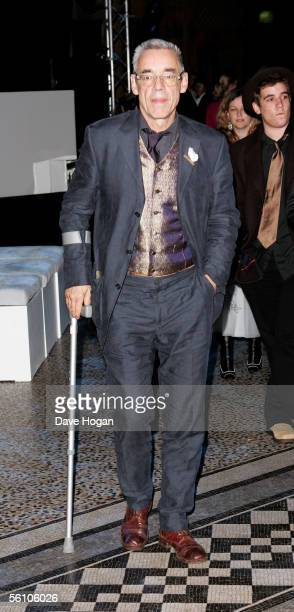 Actor Roger LloydPack attends the party for the World Premiere of 'Harry Potter And The Goblet Of Fire' at The Natural History Museum on November 6...