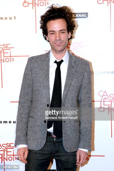 romain duris stock photos and pictures getty images. Black Bedroom Furniture Sets. Home Design Ideas