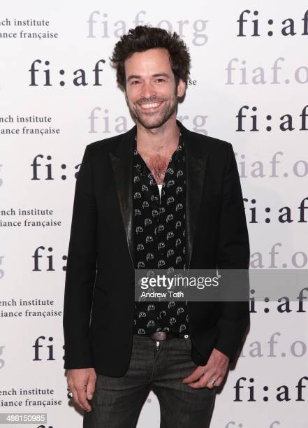 Actor Romain Duris attends the CineSalon sneak preview of 'Chinese Puzzle' at Florence Gould Hall on April 22 2014 in New York City