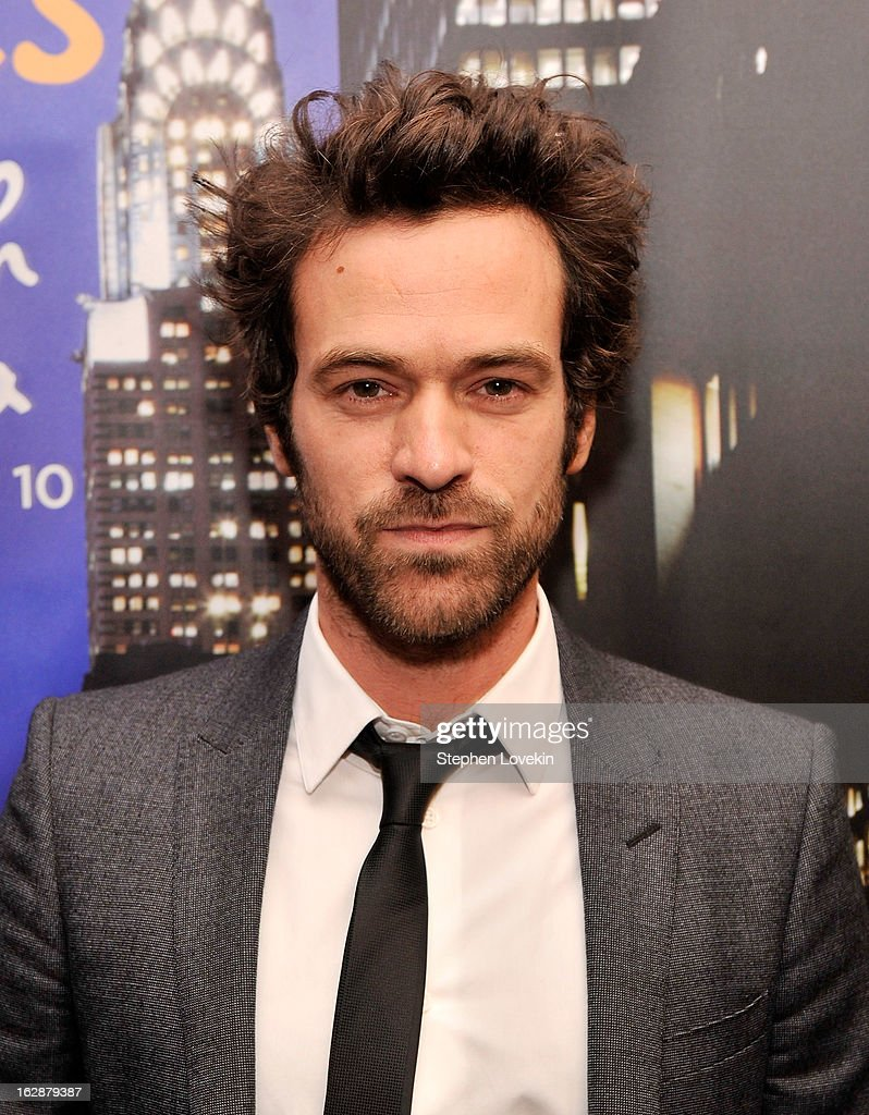 Actor Romain Duris attends the U.S. premiere of 'Populaire', hosted by The Film Society of Lincoln Center, UniFrance Films and The Weinstein Company at The Paris Theatre on February 28, 2013 in New York City.