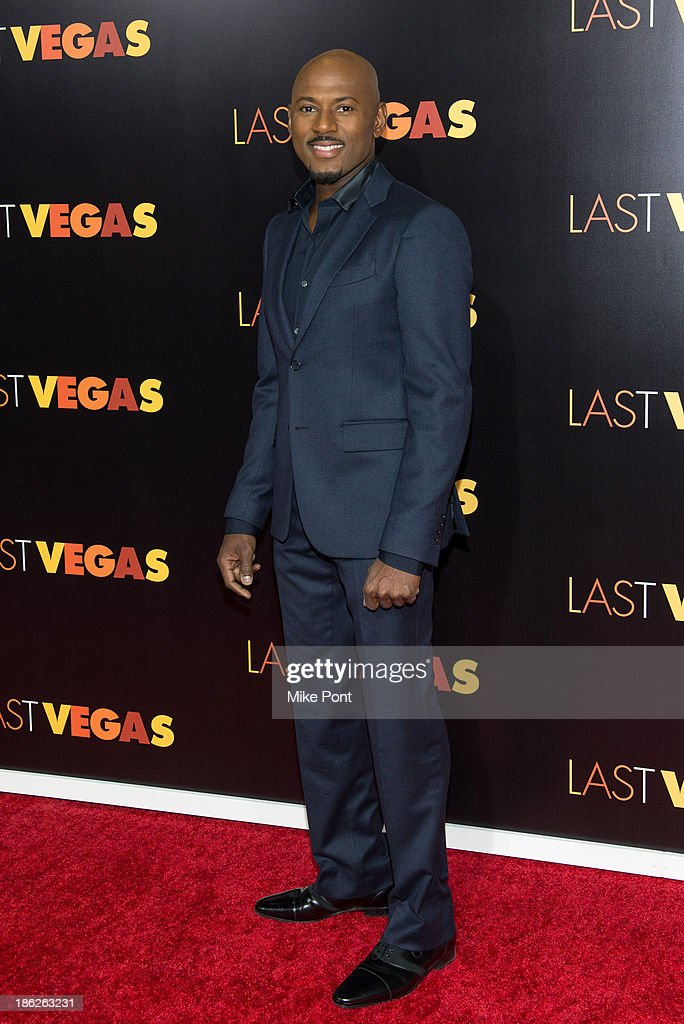Actor <a gi-track='captionPersonalityLinkClicked' href=/galleries/search?phrase=Romany+Malco&family=editorial&specificpeople=806936 ng-click='$event.stopPropagation()'>Romany Malco</a> attends the 'Last Vegas' premiere at the Ziegfeld Theater on October 29, 2013 in New York City.