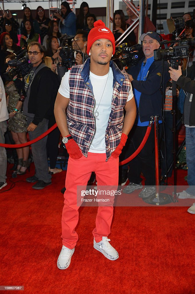 Actor Romeo arrives at Fox's 'The X Factor' Season Finale - Night 2 at CBS Television City on December 20, 2012 in Los Angeles, California.