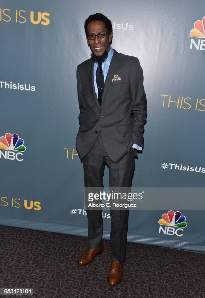 Actor Ron Cephas Jones attends a screening of the season finale of NBC's 'This Is Us' at The Directors Guild Of America on March 14 2017 in Los...