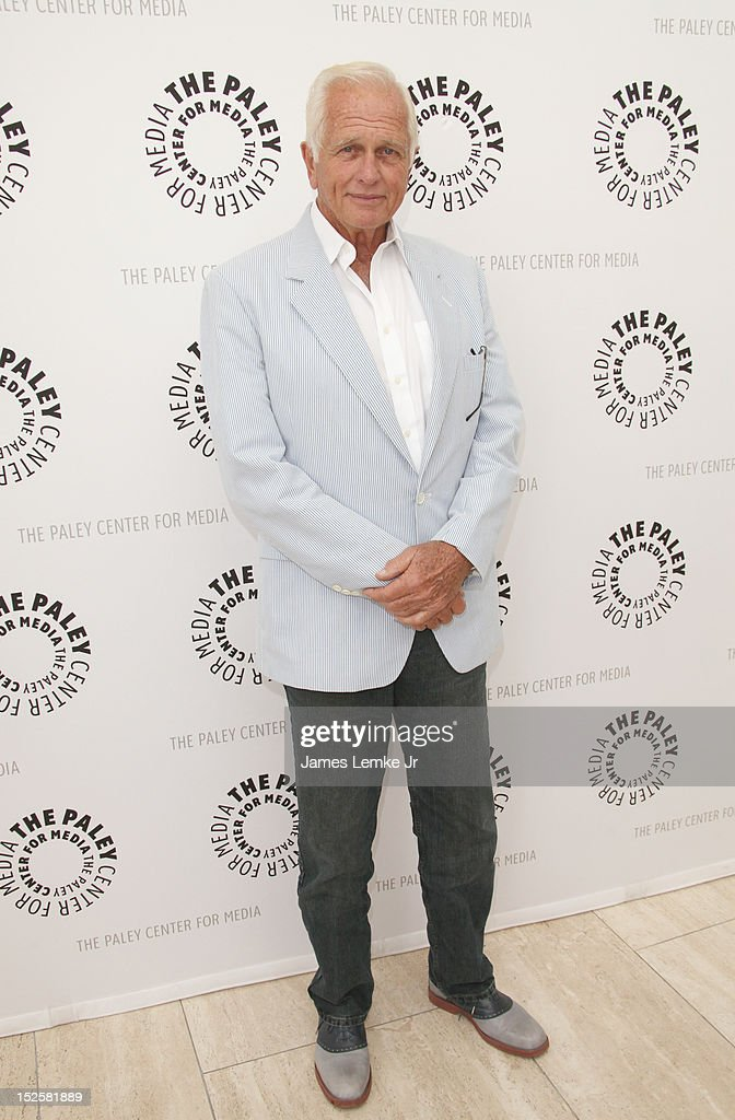 Actor Ron Ely attends retro TV action-adventure-thon at The Paley Center for media on September 22, 2012 in Beverly Hills, California.