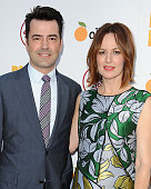 Actor Ron Livingston and actress Rosemarie DeWitt attend the premiere of 'Digging For Fire' at ArcLight Cinemas on August 13 2015 in Hollywood...