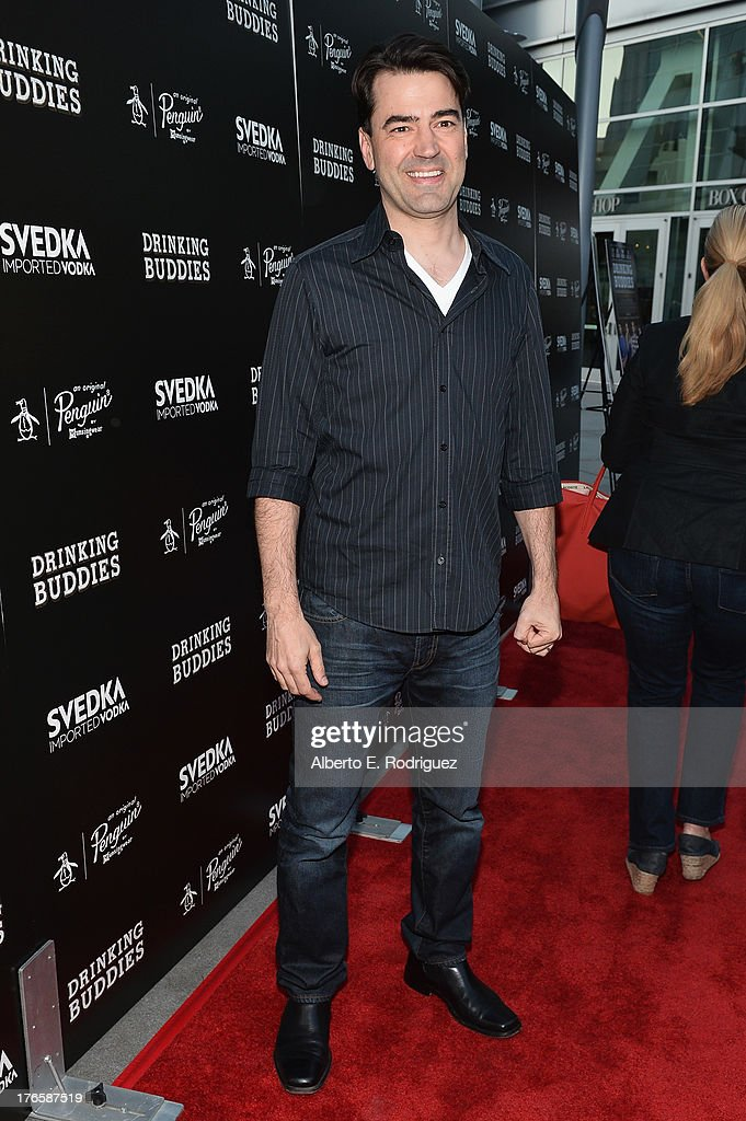 Actor <a gi-track='captionPersonalityLinkClicked' href=/galleries/search?phrase=Ron+Livingston&family=editorial&specificpeople=213878 ng-click='$event.stopPropagation()'>Ron Livingston</a> arrives for the screening of Magnolia Pictures' 'Drinking Buddies' at ArcLight Cinemas on August 15, 2013 in Hollywood, California.