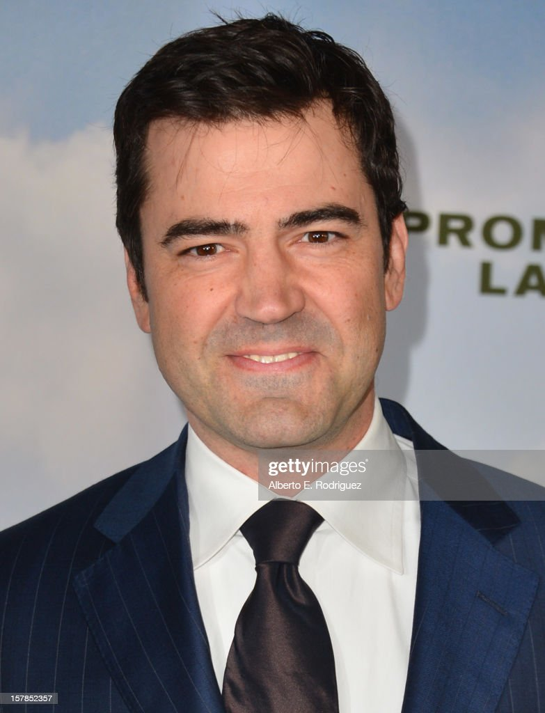 Actor Ron Livingston arrives to the premiere of Focus Features' 'Promised Land' at the Directors Guild Of America on December 6, 2012 in Los Angeles, California.