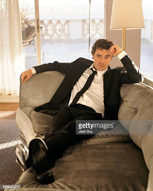 Actor Ron Livingston is photographed for Red Magazine in 2004 in Los Angeles, California.