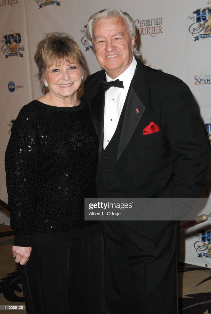 Actor Ron Masak and wife Kay Knebes arrive for Norby Walters' 22nd Annual Night Of 100 Stars Oscar Viewing Gala held at The Beverly Hills Hotel on February 26, 2012 in Beverly Hills, California.