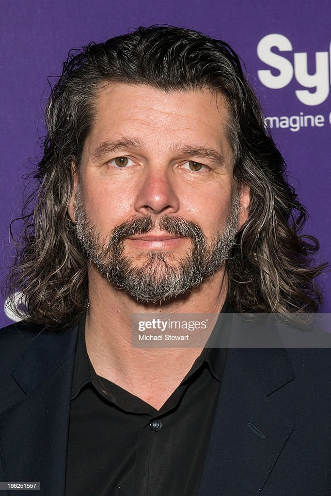 Actor Ron Moore attends the 2013 Syfy Upfront at Silver Screen Studios at Chelsea Piers on April 10, 2013 in New York City.