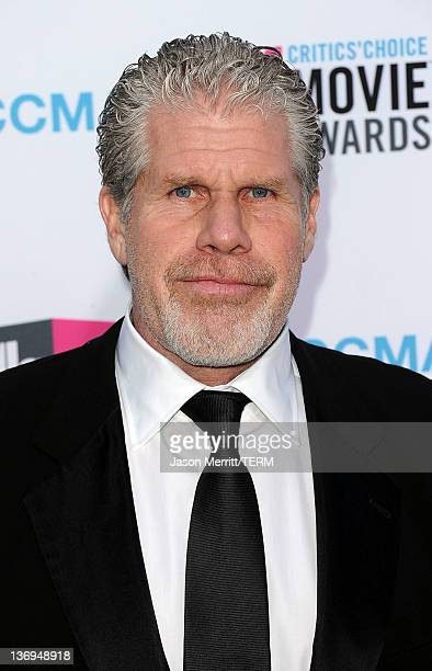 Actor Ron Perlman arrives at the 17th Annual Critics' Choice Movie Awards held at The Hollywood Palladium on January 12 2012 in Los Angeles California