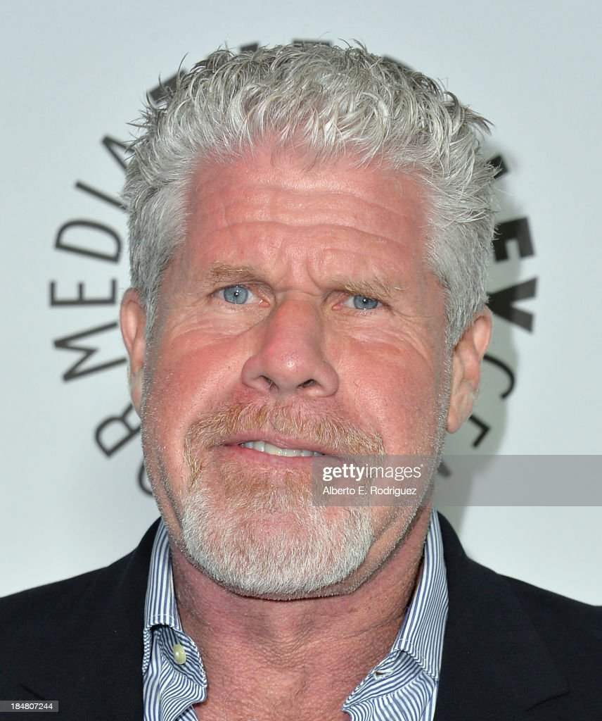 Actor <a gi-track='captionPersonalityLinkClicked' href=/galleries/search?phrase=Ron+Perlman+-+Actor&family=editorial&specificpeople=208159 ng-click='$event.stopPropagation()'>Ron Perlman</a> arrives at The Paley Center for Media's 2013 benefit gala honoring FX Networks with the Paley Prize for Innovation & Excellence at Fox Studio Lot on October 16, 2013 in Century City, California.