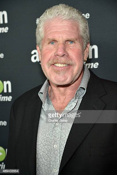 Actor Ron Perlman attends Amazon Prime's Emmy Celebration at The Standard Hotel on September 20 2015 in Los Angeles California