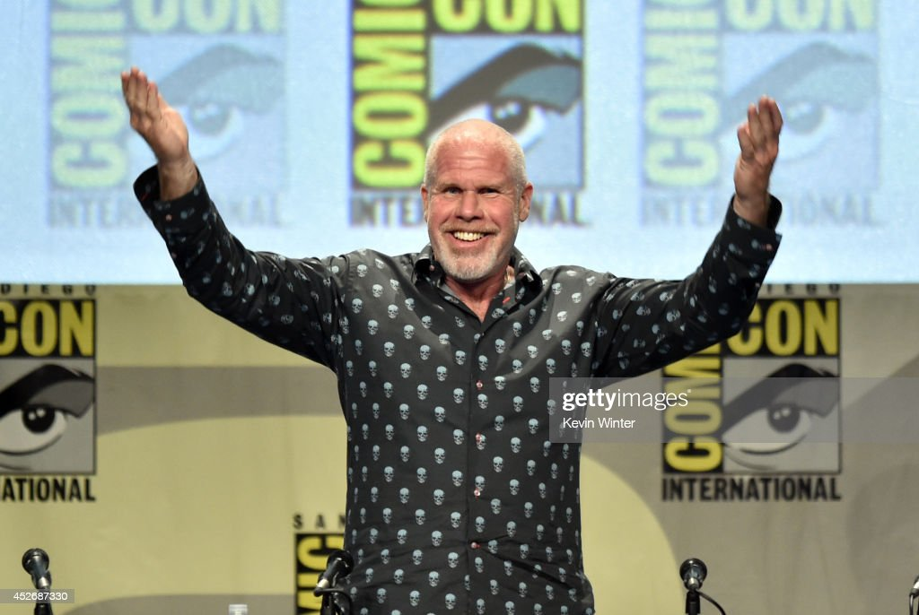 Actor Ron Perlman attends the 20th Century Fox presentation during Comic-Con International 2014 at San Diego Convention Center on July 25, 2014 in San Diego, California.