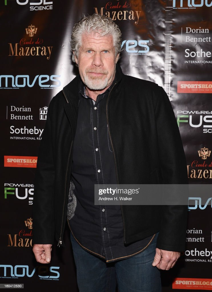 Actor <a gi-track='captionPersonalityLinkClicked' href=/galleries/search?phrase=Ron+Perlman+-+Actor&family=editorial&specificpeople=208159 ng-click='$event.stopPropagation()'>Ron Perlman</a> attends the 6th Annual Moves Magazine Super Bowl Party at Metropolitan Nightclub on January 30, 2013 in New Orleans, Louisiana.