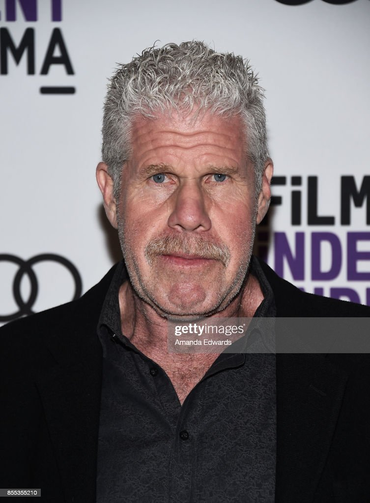 Actor Ron Perlman attends the Film Independent at LACMA Screening and Q+A of 'Startup' at LACMA on September 28, 2017 in Los Angeles, California.