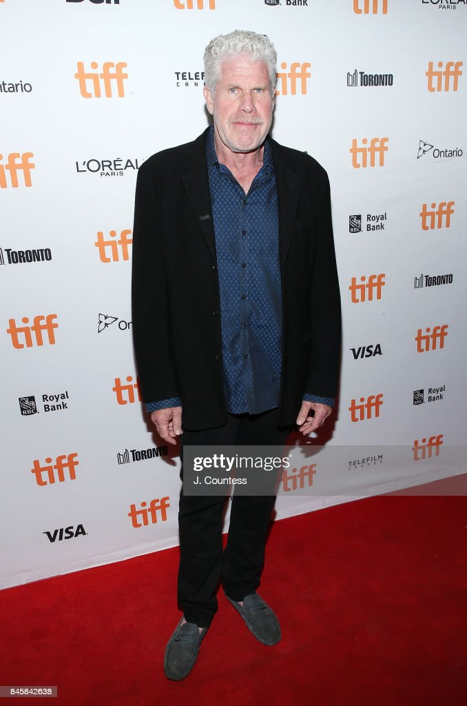 Actor Ron Perlman attends the premiere of 'The Shape Of Water' during the 2017 Toronto International Film Festival at The Elgin on September 11, 2017 in Toronto, Canada.