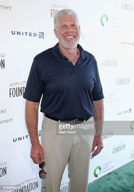 Actor Ron Perlman attends The Screen Actors Guild Foundation's 6th Annual Los Angeles Golf Classic on June 8 2015 in Burbank California