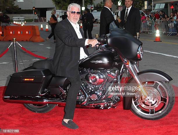 Actor Ron Perlman attends the Screening For FX's 'Sons Of Anarchy' Season 5 at Westwood Village Theater on September 8 2012 in Los Angeles California