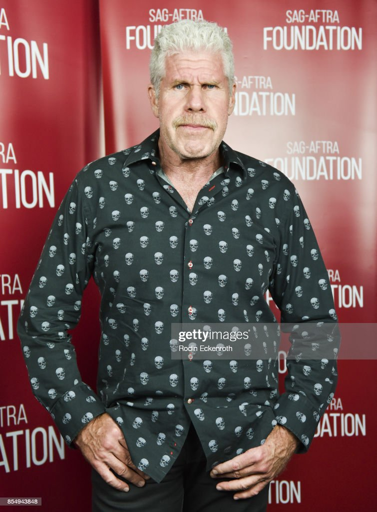 Actor Ron Perlman poses for portrait at SAG-AFTRA Foundation Conversations - 'StartUp' at SAG-AFTRA Foundation Screening Room on September 27, 2017 in Los Angeles, California.