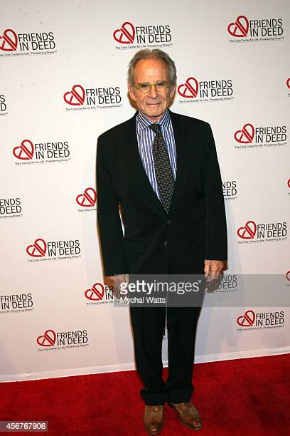 Actor Ron Rifkin attends the Dinner And Auction Benefiting Friends In Deed at Stephan Weiss Studio on October 6 2014 in New York City