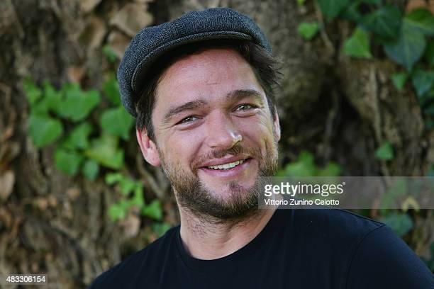 Actor Ronald Zehrfeld attends Der Staat Gegen Fritz Bauer photocall on August 7 2015 in Locarno Switzerland