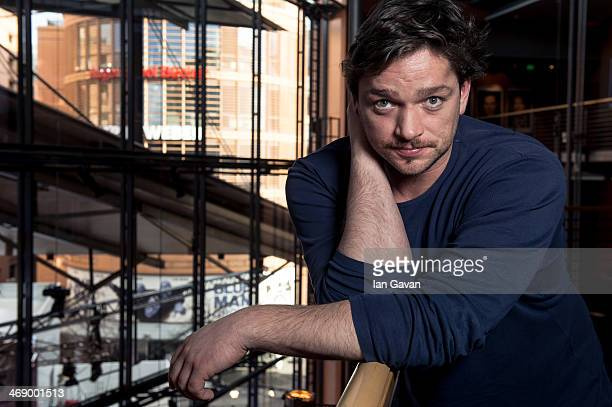 Actor Ronald Zehrfeld by Photographer Ian Gavan poses during the 64th Berlinale International Film Festival at Berlinale Palast on February 12 2014...