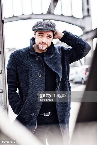 Actor Ronald Zehrfeld is photographed for Self Assignment on April 15 2015 in Berlin Germany