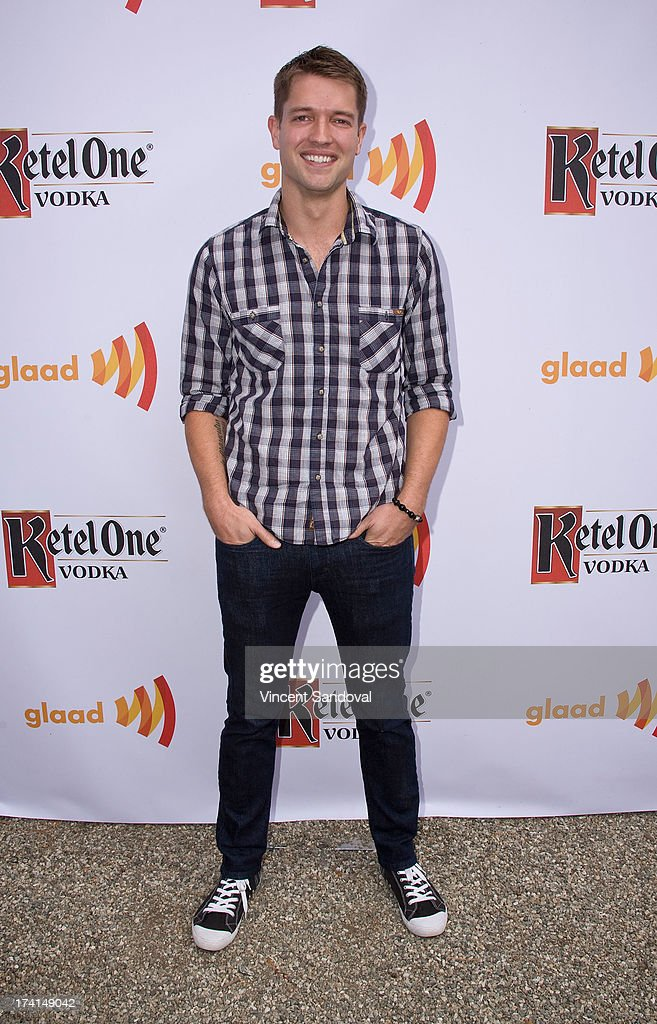 Actor Ronnie Kroell attends GLAAD's annual food-themed fundraiser 'GLAAD Hancock Park' on July 20, 2013 in Los Angeles, California.