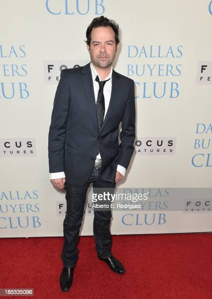 Actor Rory Cochrane attends Focus Features' 'Dallas Buyers Club' premiere at the Academy of Motion Picture Arts and Sciences on October 17 2013 in...