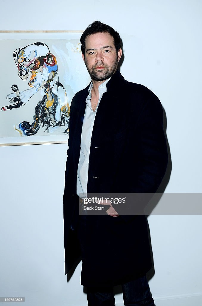 Actor Rory Cochrane attends the art exhibition and opening of Alexander Yulish 'Interior Stories' at Gallery Brown on January 19, 2013 in Los Angeles, California.