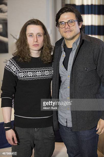 Actor Rory Culkin and director Lou Howe attend the Annapolis Film Festival Special Screening and QA of 'Gabriel' at St John's College on March 28...