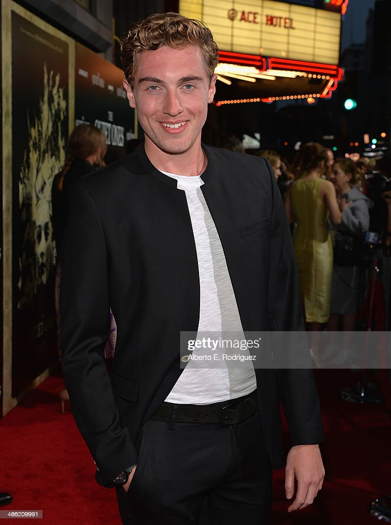 Actor <a gi-track='captionPersonalityLinkClicked' href=/galleries/search?phrase=Rory+Fleck-Byrne&family=editorial&specificpeople=8640695 ng-click='$event.stopPropagation()'>Rory Fleck-Byrne</a> arrives to the Los Angeles Premiere of Lionsgate Films' 'The Quiet Ones' at The Theatre At Ace Hotel on April 22, 2014 in Los Angeles, California.