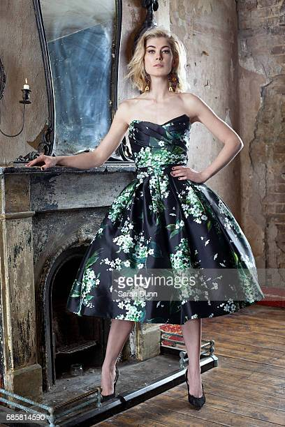 Actor Rosamund Pike is photographed for Prestige magazine on February 1 2013 in London England