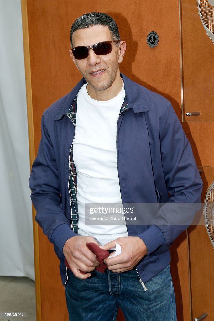 Actor Roschdy Zem attends Roland Garros Tennis French Open 2013 - Day 7 on June 1, 2013 in Paris, France.