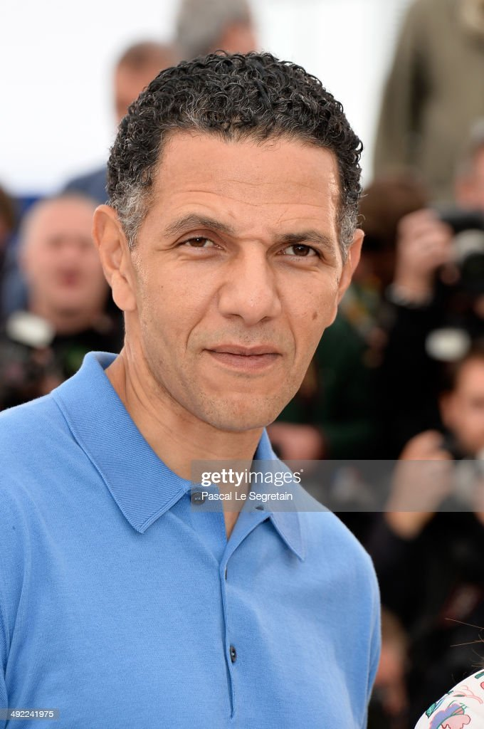 Actor Roschdy Zem attends the 'Bird People' photocall at the 67th Annual Cannes Film Festival on May 19, 2014 in Cannes, France.