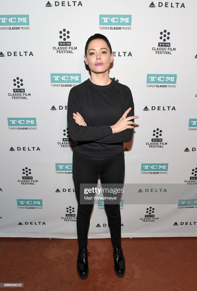 Actor Rose McGowan attends the screening of 'Lady in the Dark' during the 2017 TCM Classic Film Festival on April 9, 2017 in Los Angeles, California. 26657_006
