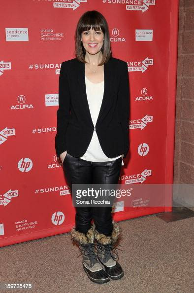 Actor Rosemarie DeWitt attends the 'Touchy Feely' premiere at Eccles Center Theatre during the 2013 Sundance Film Festival on January 19 2013 in Park...