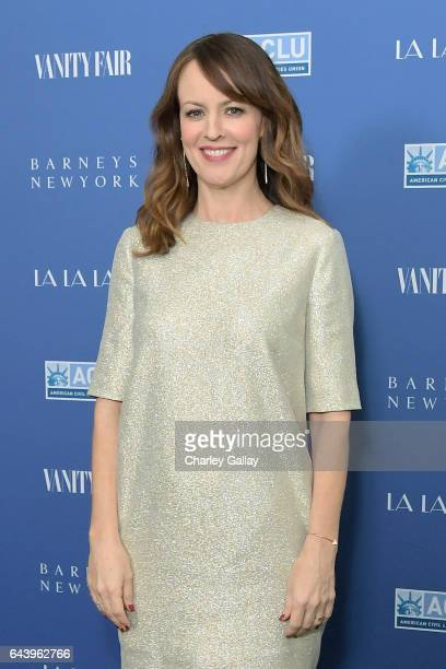Actor Rosemarie DeWitt attends Vanity Fair and Barneys New York Private Dinner in Celebration of 'La La Land' at Chateau Marmont on February 22 2017...